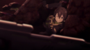Sinon reaching for her gun in the rubble on the 100th Floor.png
