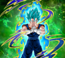 Azure Flash Super Saiyan God SS Vegito