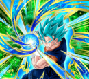 Strength Surpassing God Super Saiyan God SS Vegito