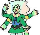 Zielony Opal
