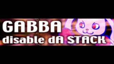 GABBA 「disable dA STACK」-0