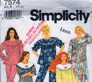 Simplicity 7574 B