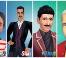 Sims com cabelo cinza