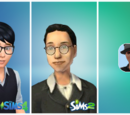 Sims masculinos