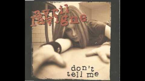 Avril Lavigne- Don't Tell Me-Don´t Tell Me