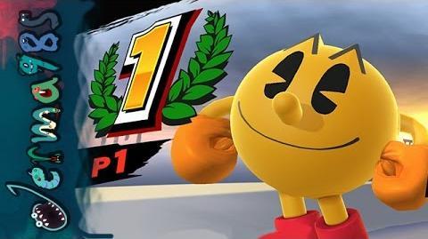 Smash Bros Wii U - Pac-Man's 1v1 Glory Quest