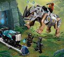 76099 Black Panther contre Killmonger : Le combat dans la mine