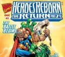 Heroes Reborn: The Return Vol 1 2