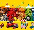 10715 La boîte de briques et de roues