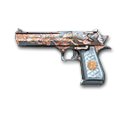 Desert Eagle-Immortal Dragon Noble Silver