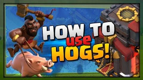 How to use Hogs - TH10 Attack Strategy Guide for 3 Stars Clash of Clans Elite Gaming War 2018