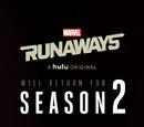 Runaways (serie de televisión)/Segunda temporada