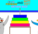 Club Penguin And Happy Feet: Birthday Bash (Chapter 1)