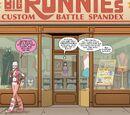Big Ronnie's Custom Battle Spandex