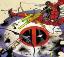 Deadpool e Gavião Arqueiro