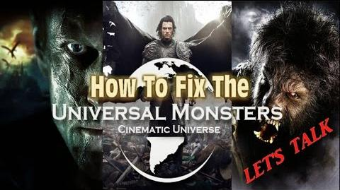 Universal Monsters Cinematic Universe