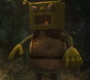 The Shrek mascot