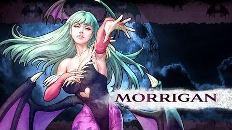 Morrigan Aensland/Lista de movimientos