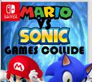 Mario Vs Sonic: Games Collide