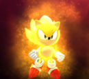 Super Sonic (Classic Sonic's world)