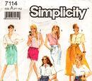 Simplicity 7114 C