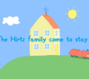 The Hirtz family come to stay