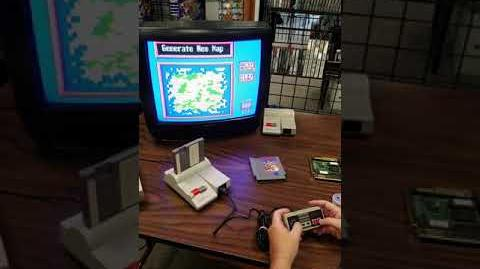 Back in Time 2 Sim City prototype on Nintendo