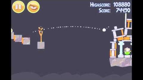 Angry Birds 15-2 Mine & Dine 3 Star Walkthrough