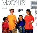 McCall's 6510 B