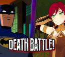 Batman vs Pyrrha Nikos