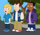 Derek, Laine and Reggie