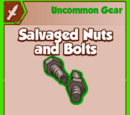 Salvaged Nuts and Bolts