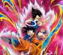 Super Warriors from Otherworld Goku (Angel) & Vegeta (Angel)