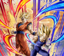 Resurrected Saiyans Super Saiyan Goku (Angel) & Super Saiyan Vegeta (Angel)