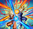 Golden Tag Team Super Saiyan Goku & Super Saiyan Vegeta