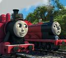 La Locomotora Roja Más Rápida en Sodor