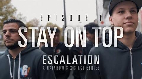 """Clear Arrow/Mostrados los dos primeros episodios de la serie de eSports """"Escalation"""" de Rainbow Six"""