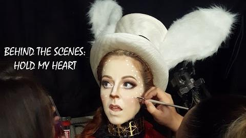 """""""Hold My Heart"""" - Behind The Scenes"""