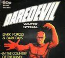 Daredevil Winter Special Vol 1 1