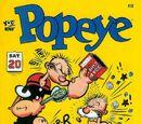 Popeye Classics (comic book)-IDW-No 13-Aug 2013