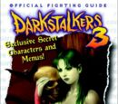 Darkstalkers 3 Official Fighting Guide