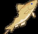 Yellow Fish on a Stick