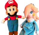 Plush Mario & Rosalina