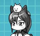 Satori Hikami & Cat (Special Cat)