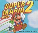 Super Mario Bros. 2/Instruction manual