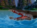 Sharptooth swimmer head out of water.png