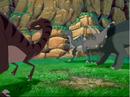 Raptors notice oncoming herd.png