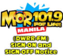 DWRR-FM 101.9 Manila Sign On and Sign Off