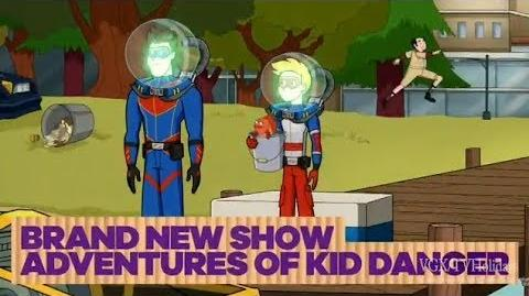 """Fish Talker"" ""Wet Doom"" 🐟 Official Promo The Adventures of Kid Danger"