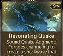Resonating Quake
